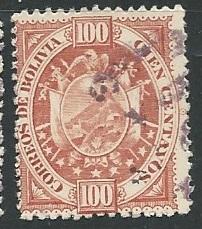 Bolivia   Scott # 46 - Used