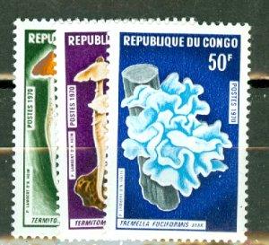 P: Congo (Peoples Republic) 211-3 MNH CV $125