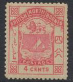 North Borneo  SG 26  SC# 11 MH  please see scans & details