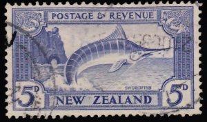 New Zealand Scott 192 Used.