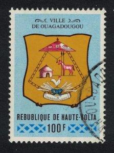 Upper Volta Ouagadougou Village Arms 1977 Canc SG#424 SC#409
