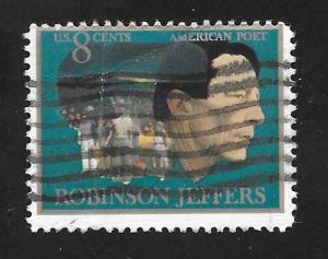 SC# 1485 - (8c) -  Robinson Jeffers, used single