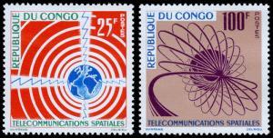 Congo, Peoples Republic of Scott 106-107 (1963) Mint NH VF C