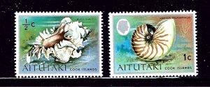 Aitutaki 82-83 MH 1974-75 part of set