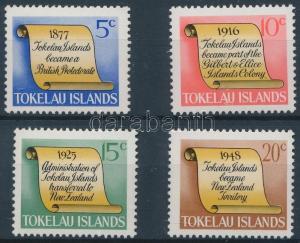 Tokelau Islands stamp Historical events set MNH 1969 Mi 9-12 WS163293