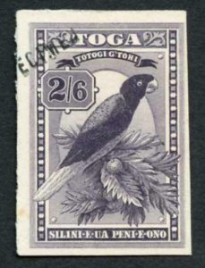 TONGA SG52 2/6 grey-purple Imperf Printers Sample Type DS3 Specimen (unrecorded)