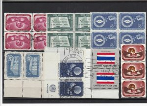 United Nations Stamps Ref 15718