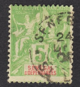 Senegal Scott 39 Fine used.