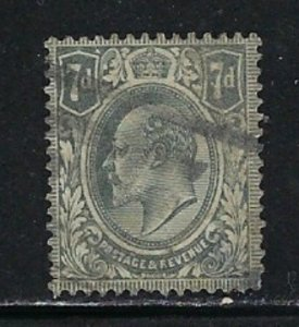 Great Britain 145 Used 1910 issue