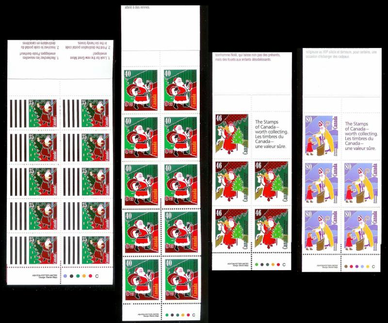 CANADA (28) Complete Christmas Booklets ALL Mint Never Hinged Face Value=C$102+