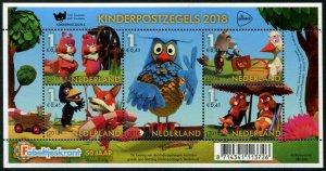 HERRICKSTAMP NEW ISSUES NETHERLANDS Sc.# B771 Childrens Stamps 2018 S.P. Sheet
