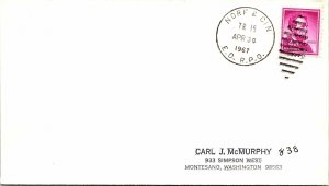 1967 Norf & Cin E.D. R.P.O. Railway Post Office #151