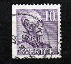 J25623 JLstamps 1939 sweden used #289a perf 3 sides