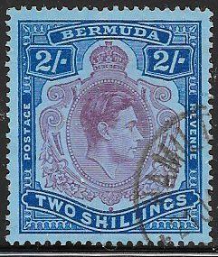 Bermuda 123a Used - George VI