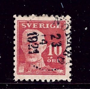 Sweden 142 Used 1920 issue