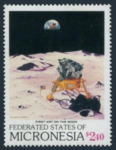 Micronesia 81 ai sheet,82,MNH.Michel 132-141.Space,1989.First Moon landing-20.