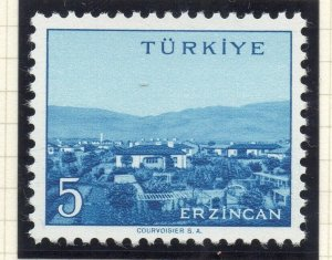 Turkey 1958-60 Early Issue Fine Mint Hinged 5p. NW-17523