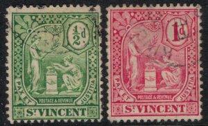 St. Vincent #90-1  CV $3.00