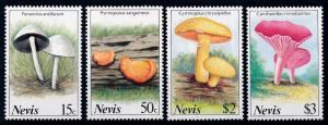 [68736] Nevis 1987 Mushrooms Pilze Champignons  MNH