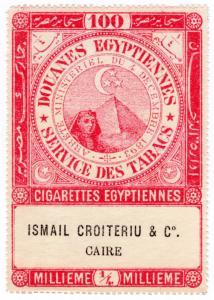 (I.B) Egypt Revenue : Tobacco Duty ¼m (100 Cigarettes)