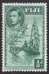 Fiji  1938 ½d green (P 13½) MH