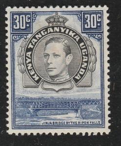 KENYA UGANDA TANGANYIKA 1938 GVI 30c perf 13.25 SG141 fine mint............65708