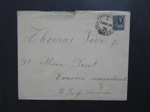 Uruguay 1936 Cover w/ Letter to USA - Z8133