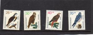 Germany 1973 Birds MNH