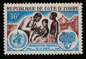 Côte d'Ivoire    1968  Scott No. 273  (O)