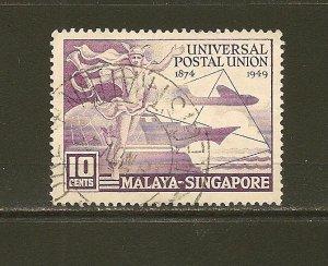 Singapore 23 UPU Used