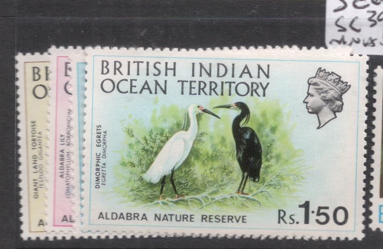 British Indian Ocean Territory SC 39-42 MNH (9dhy)