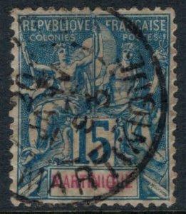 Martinique #40  CV $8.00