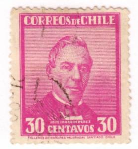 Chile, Scott # 185, Used