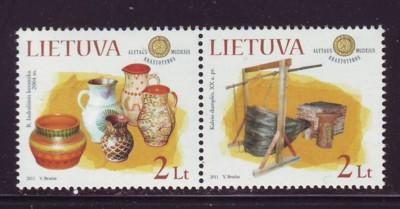 Lithuania Sc 942 2011 Ethnographic Museum stamps  mint NH