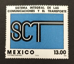 Mexico 1983 #1330, Comm. & Trans. System, MNH.