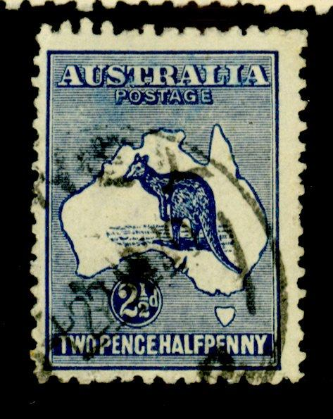 Australia #4 Used F-VF Cat$22.50