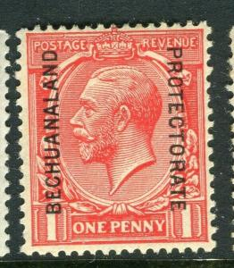 BECHUANALAND; 1925 early GV issue fine Mint hinged Shade of 1d. value