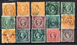 New South Wales QV unchecked collection WS16628