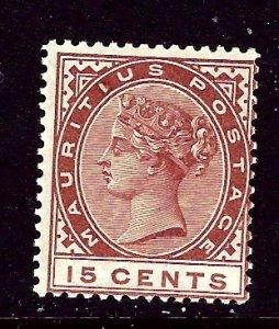 Mauritius 80 MNH 1892 issue    (ap3161)