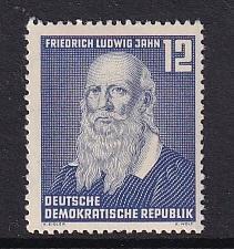 Germany  DDR  #110   MH   1952   Jahn