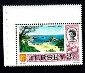 JERSEY #40a  1974  3 1/2p  B/P OF 1     MINT VF NH O.G  a