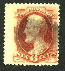 Scott 208a Genuine certified used 1882 CV 190.00 plus bonus 186