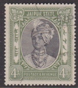 India: Jaipur #41 used 4-annas
