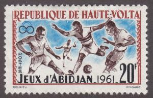 Burkina Faso 103 Soccer 1962