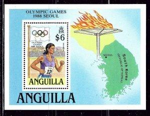 Anguilla 763 MNH 1988 Olympics S/S    (ap3078)