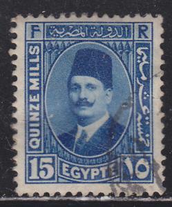 Egypt 139 King Fuad 1927