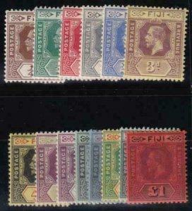 Fiji 1912-1923 SC 79-92 LH Set