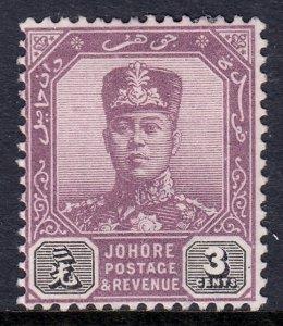 Malaya (Johore) - Scott #61 - MNG - SCV $4.75