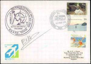 British Antarctic Territory #128, Antarctic Cachet and/or Cancel