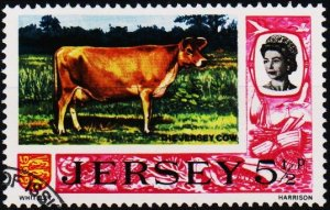 Jersey. 1970 5 1/2p S.G.50a Fine Used